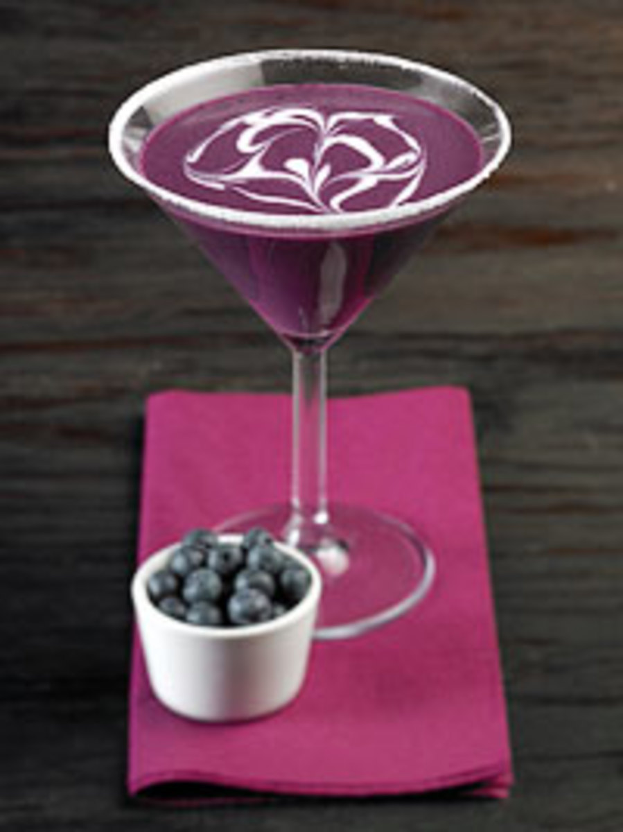 Wild Blueberry Daiquiri
