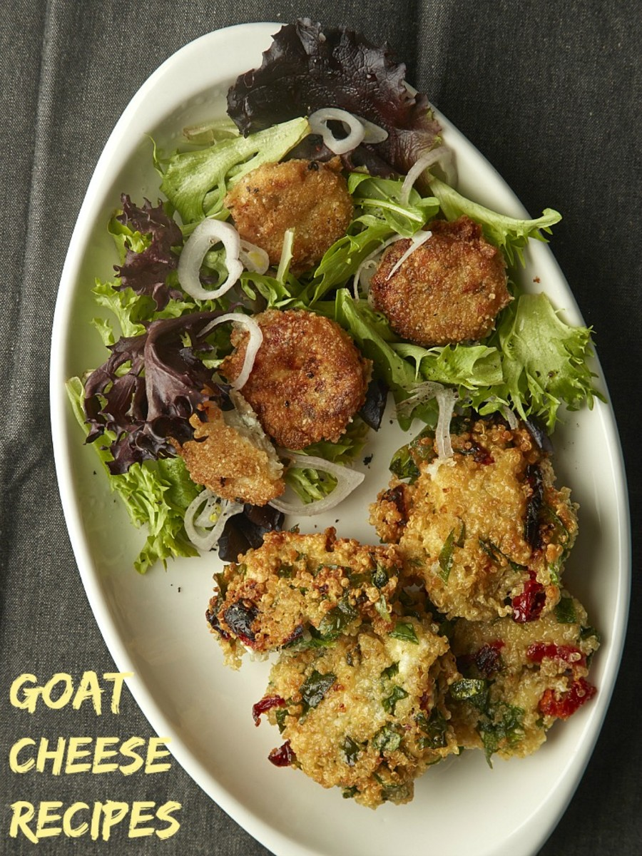 goat cheese recipes