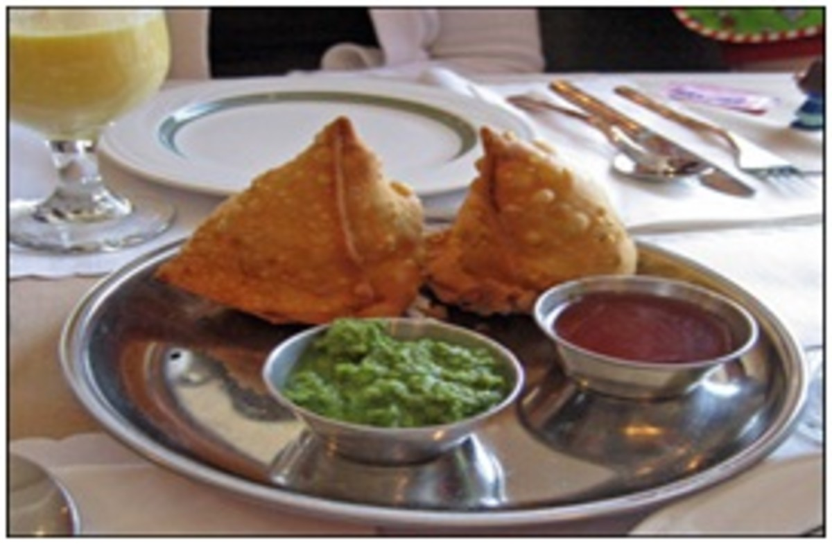 "Vegetable Samosas (The ""New"" Hamantashen)"