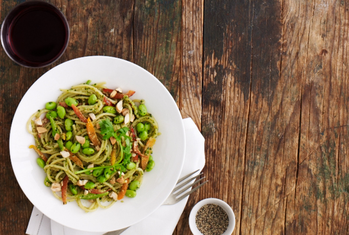 Thai Pesto Noodles