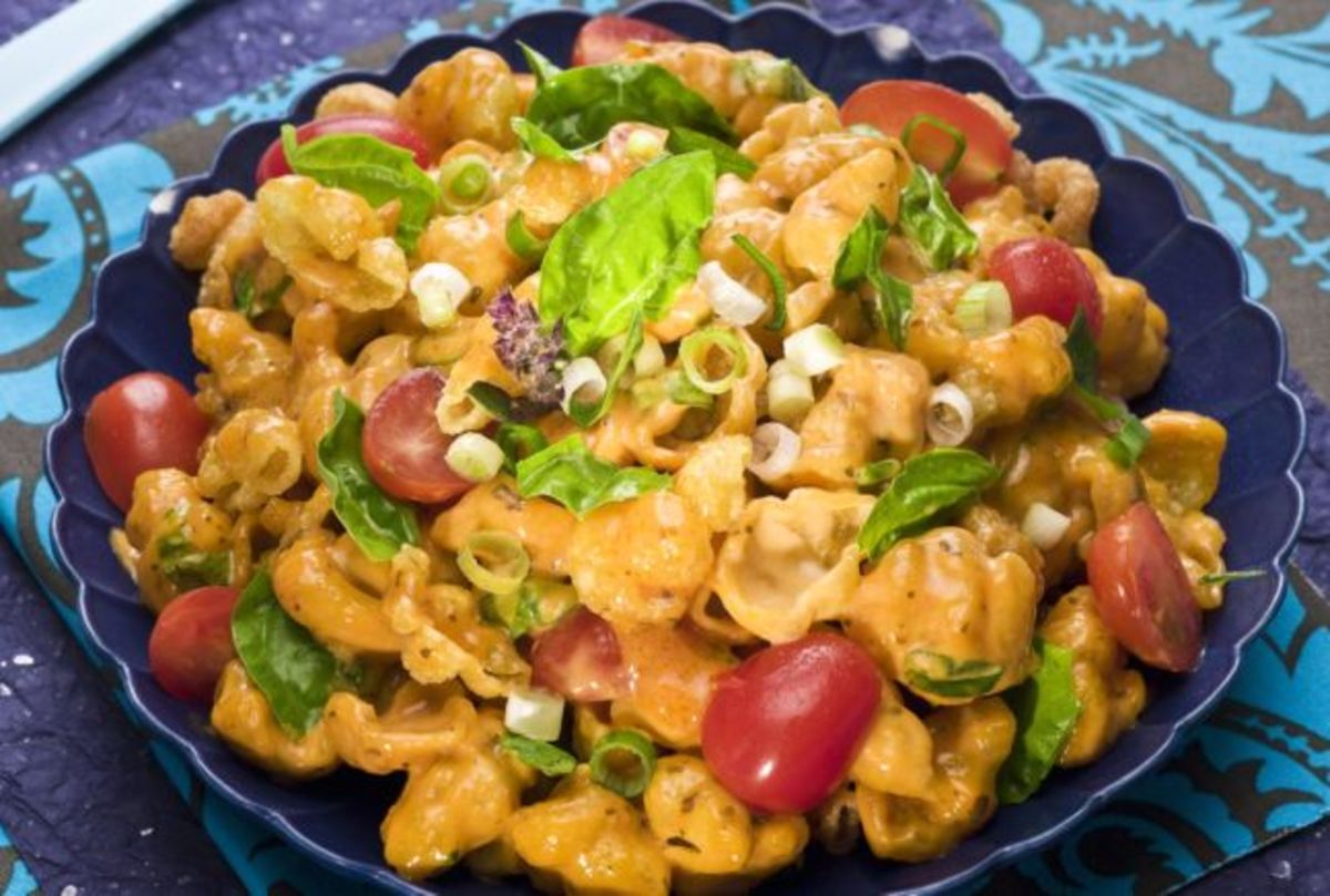 Fried Justa Pasta Salad