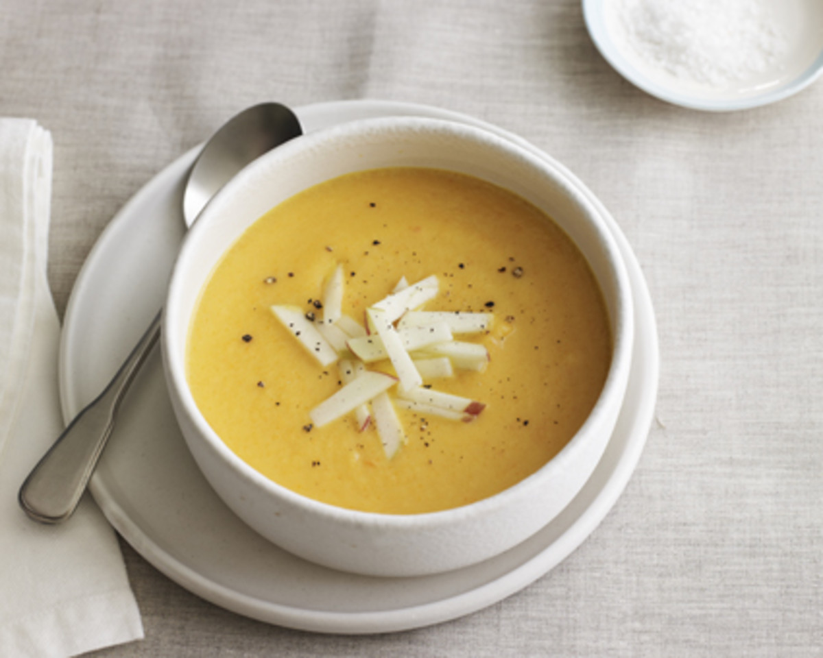 parsnip and celery root soup