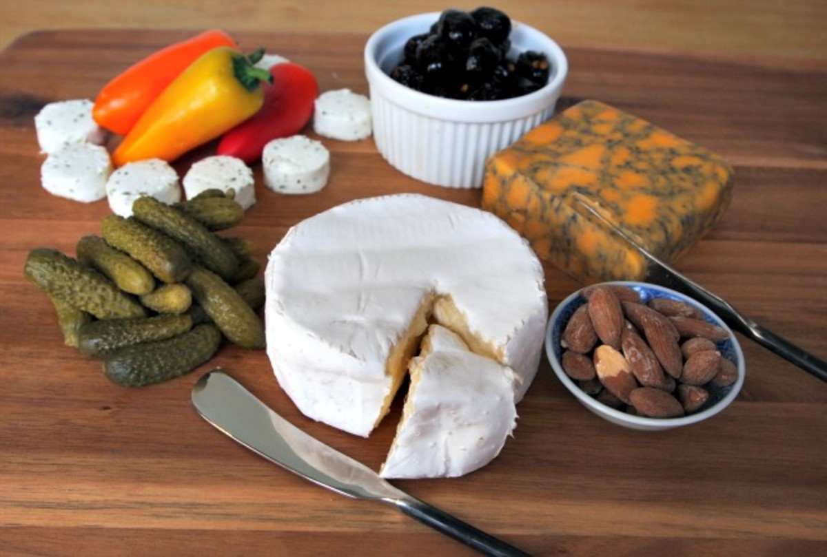 appetizer cheese plate & The Making of a Cheese Plate - Joy of Kosher