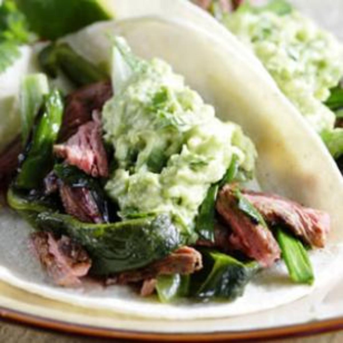 poblano-and-skirt-steak-fajitas