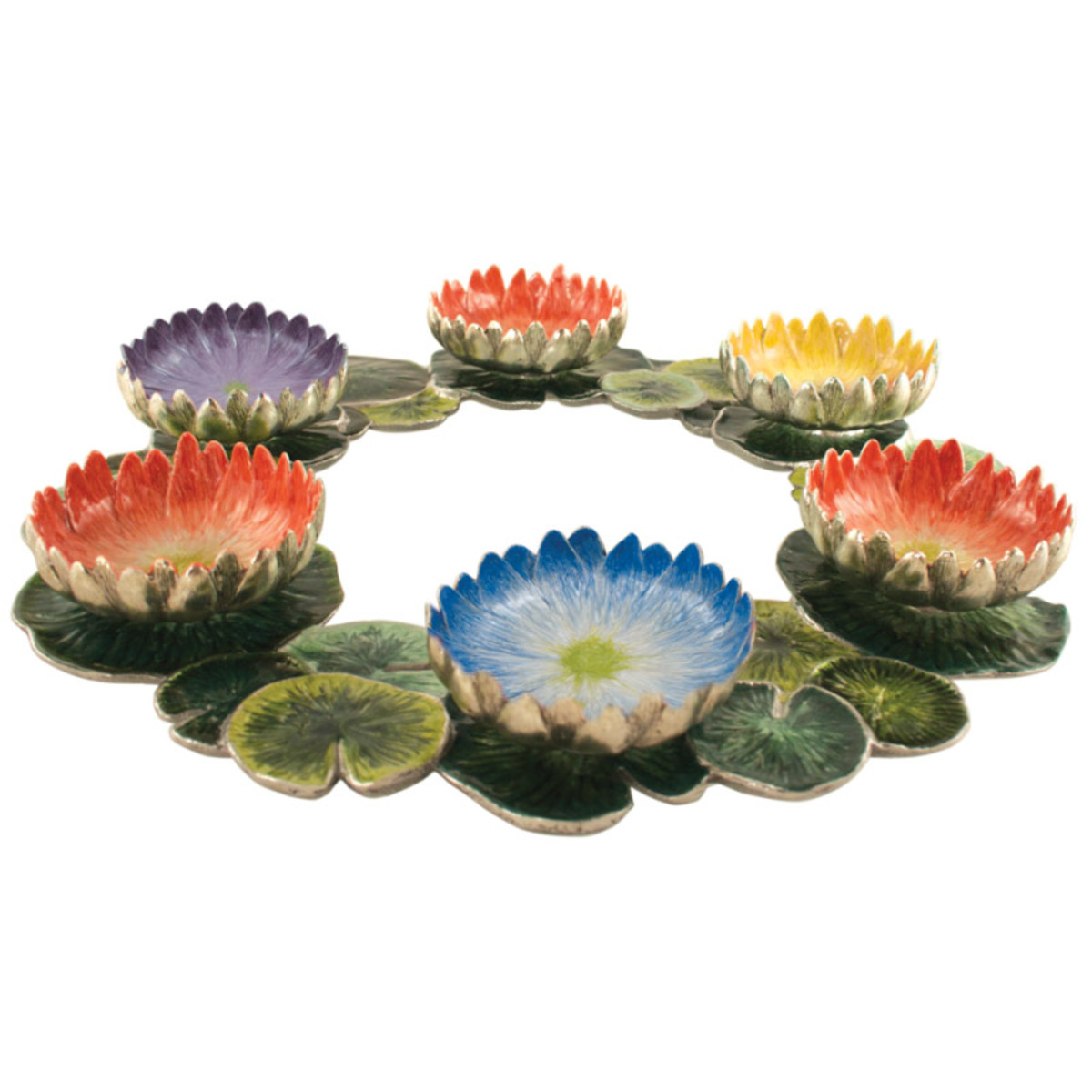 quest lotus seder plate