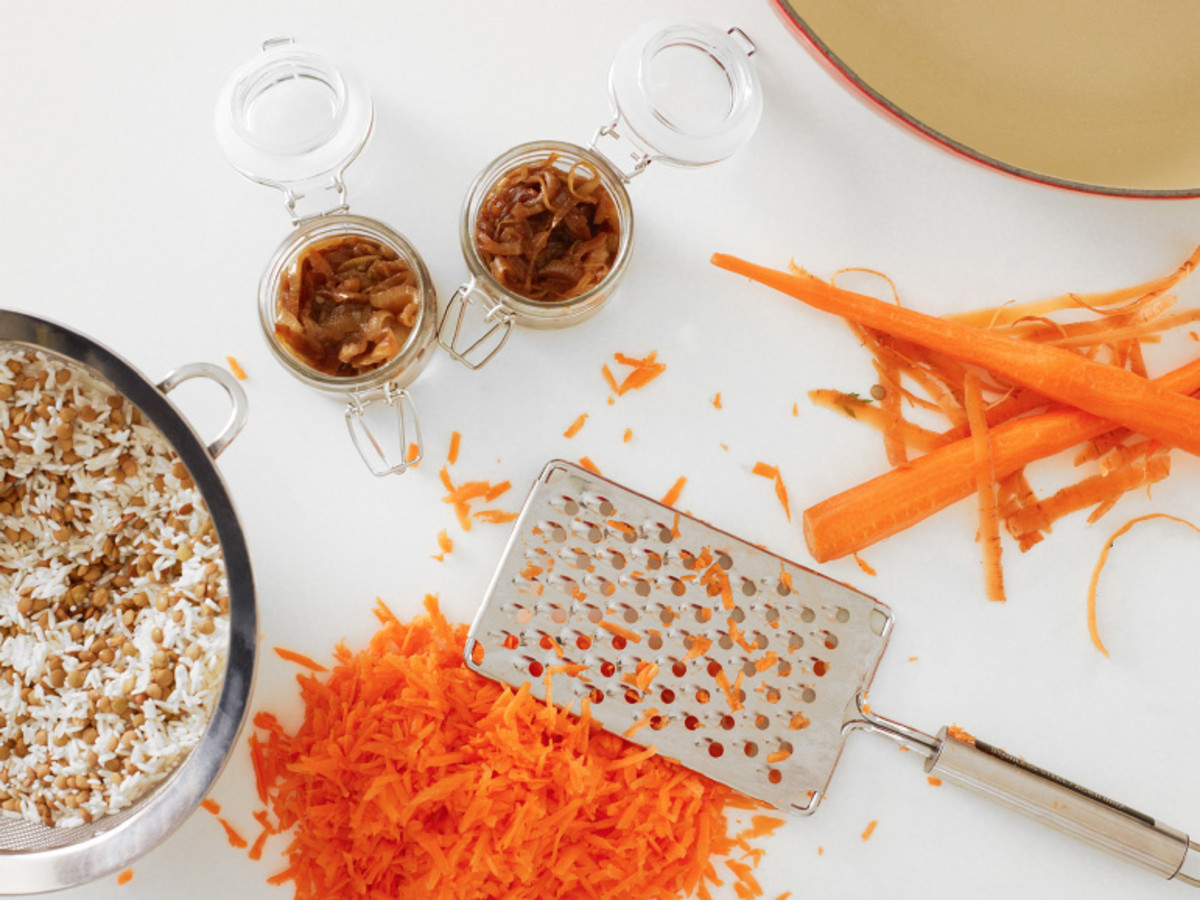 Lentil Rice with Carrots