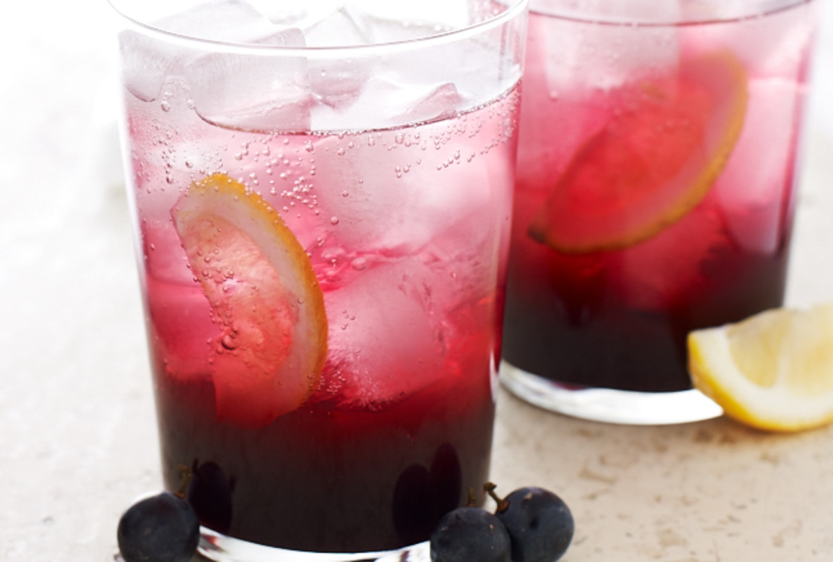 Concord Grape Fizz