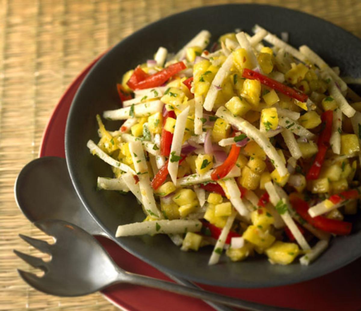 Jicama and Sweet Lemon Salad