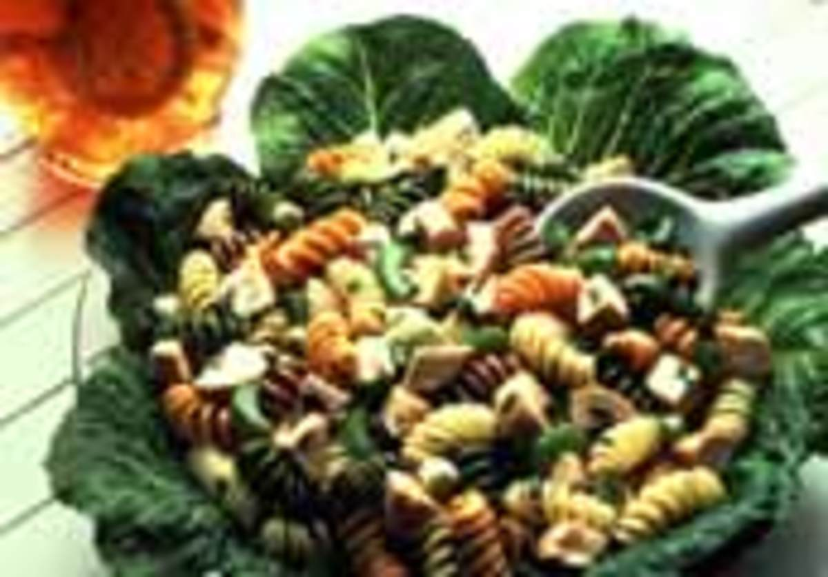colorful turkey pasta salad jamie geller