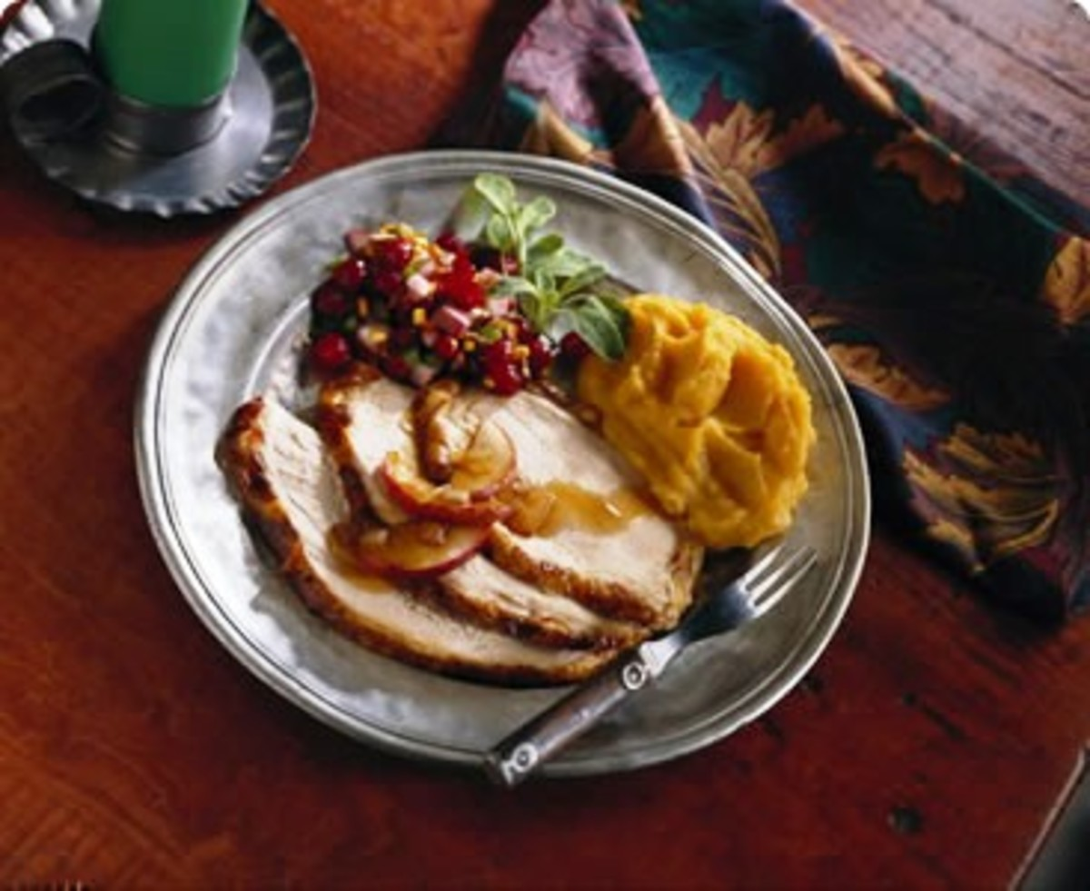 Maple and Cider Turkey Breast