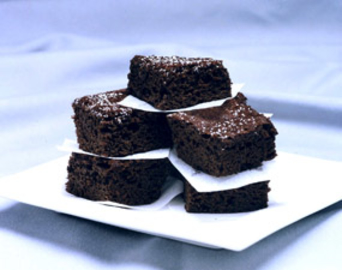 Yummy Fat-Free Chocolate Squares