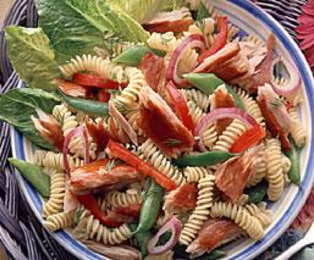 Light Pasta Salad with Smoked Albacore