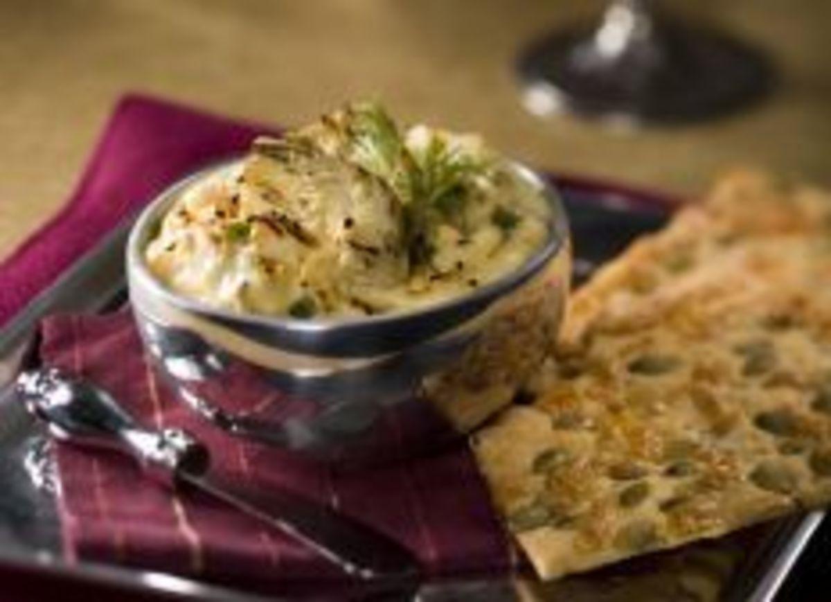Easy Idaho® Potato – Artichoke Dip