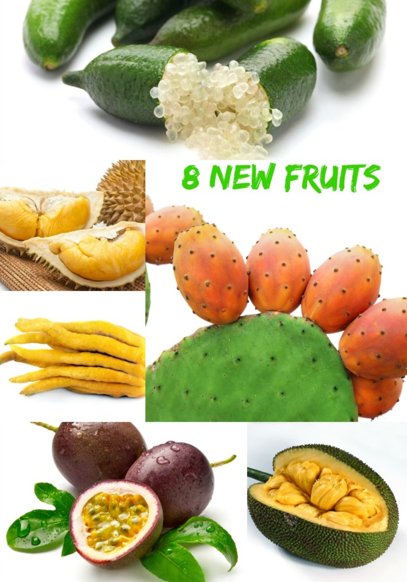 8 new fruits long