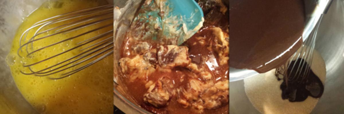 Week 21 Flourless Chocolate Cake with glaze 2