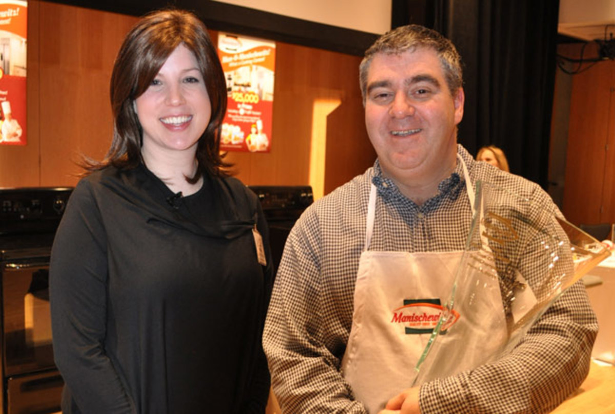 Jamie Geller with Contest Winner Stuart Davis