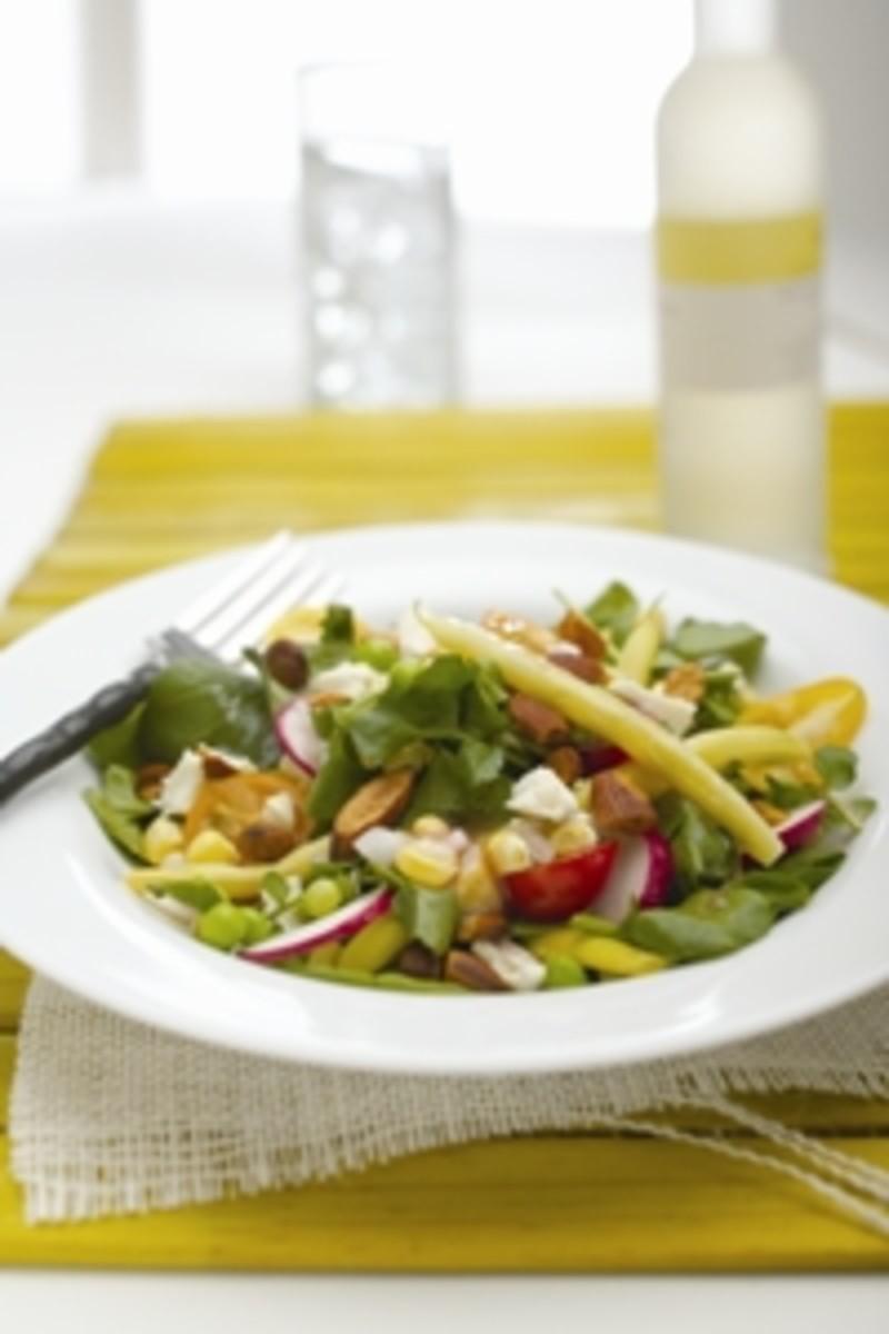 Farmers Market Vegetable Salad