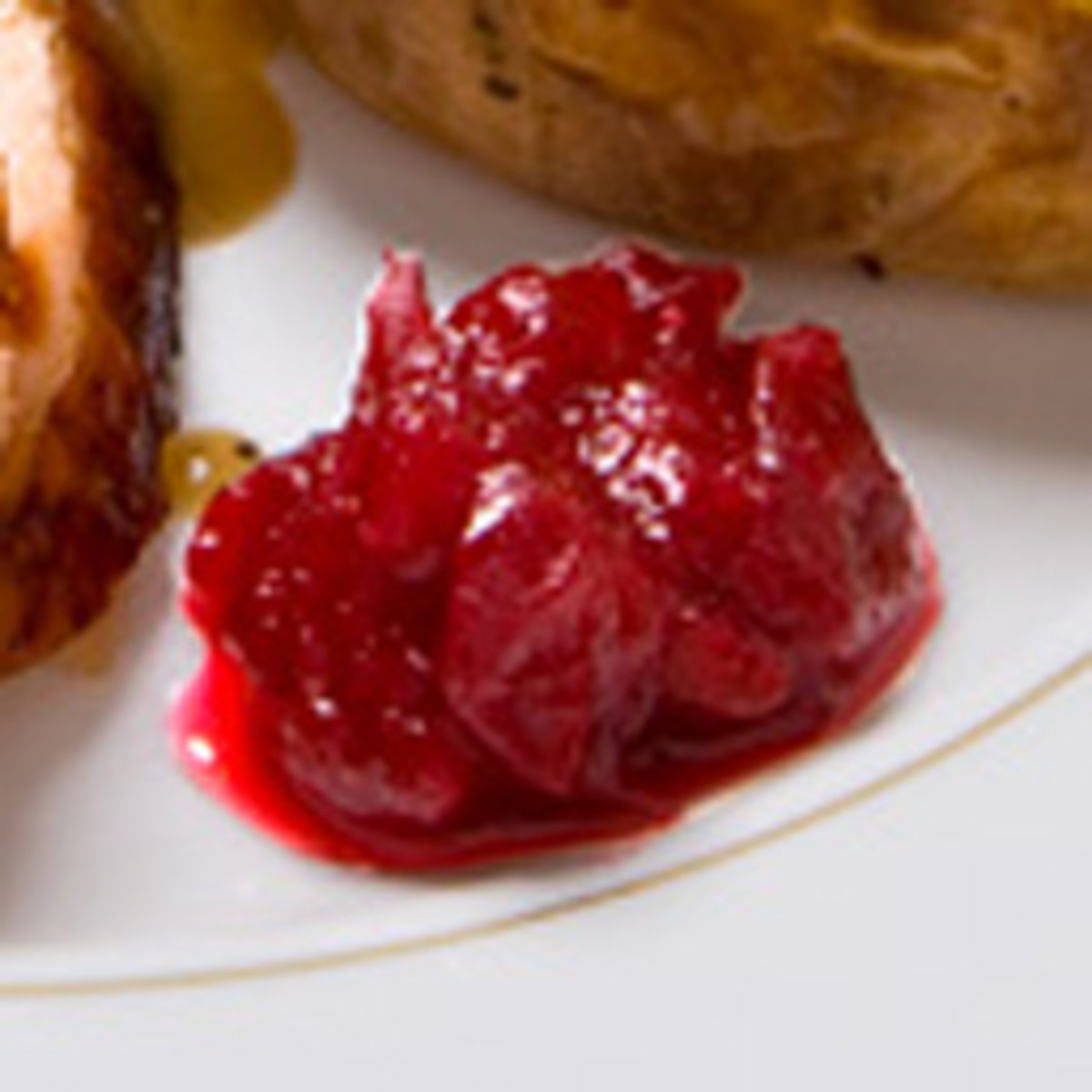 Guiltless Apricot Cranberry Sauce