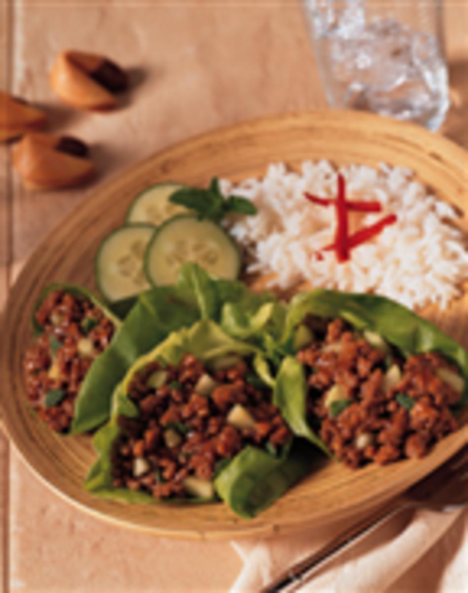 Oriental Express Beef Lettuce Wraps
