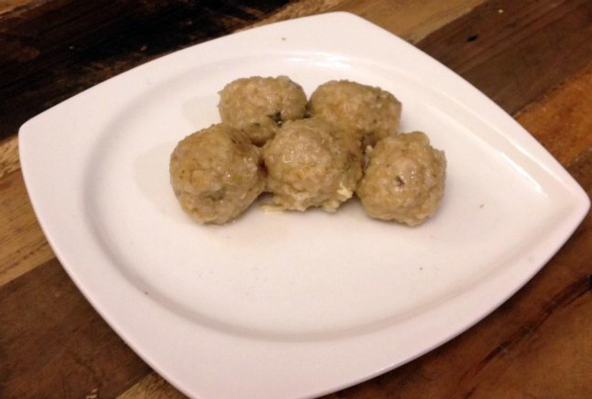 bulgur dumplings