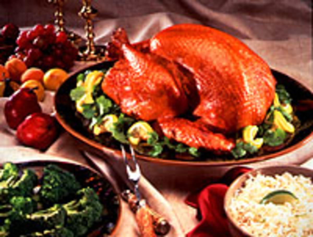 Lemon-Garlic Roasted Turkey