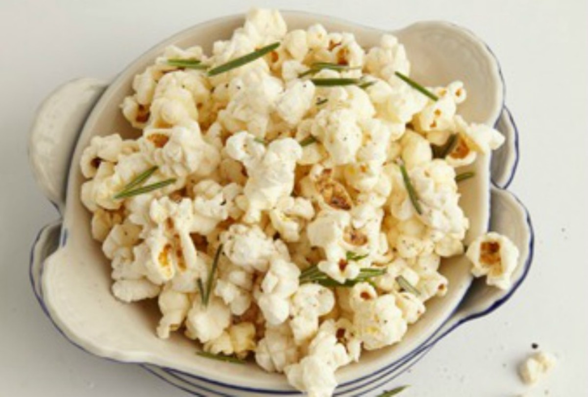 Truffle & Rosemary Popcorn