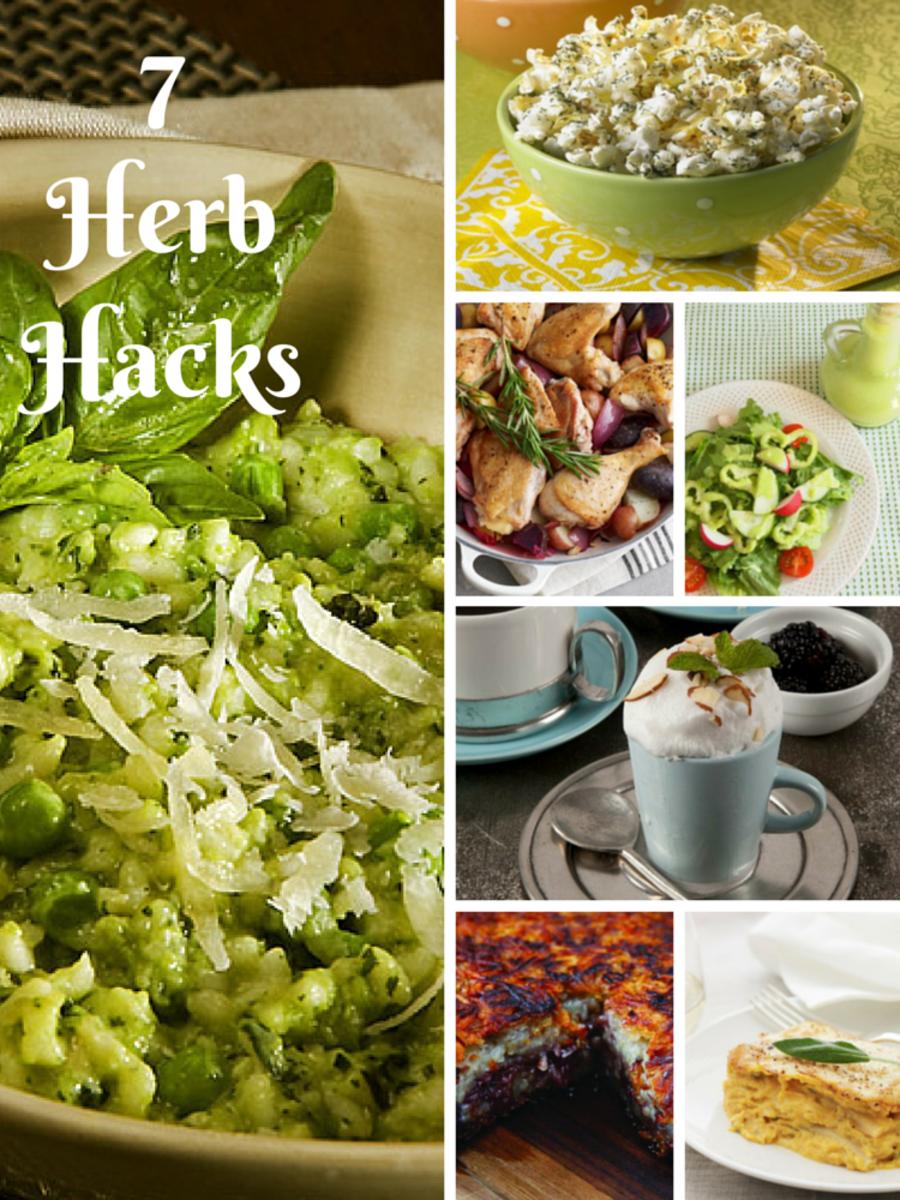 7 Herb Hacks