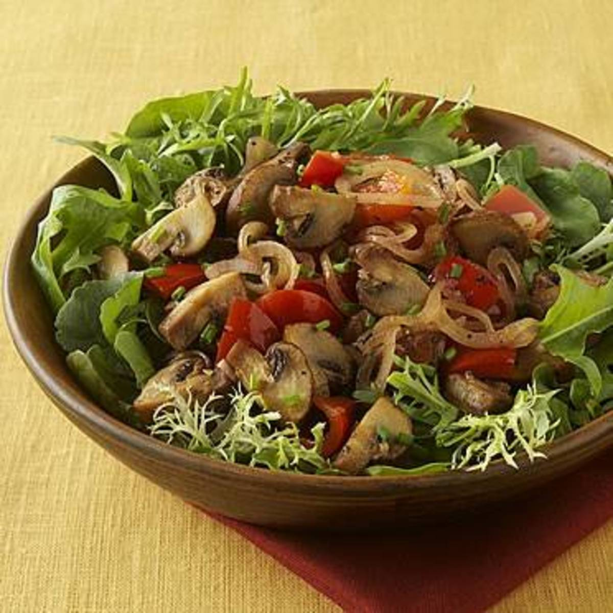Sautéed Mushroom Salad