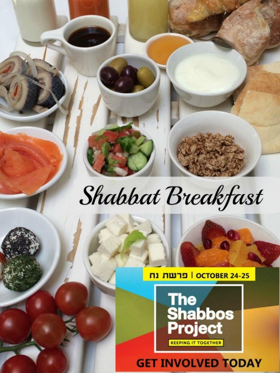 shabbat project breakfast idea