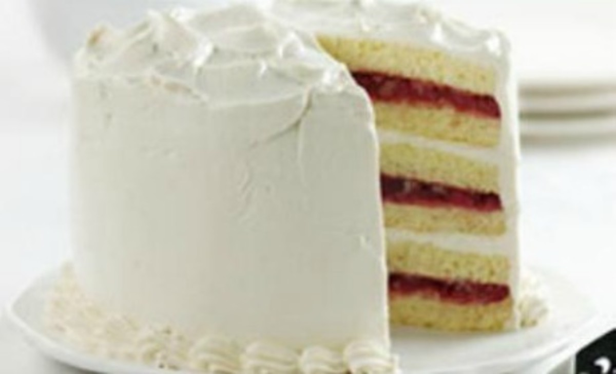 Cranberry Pineapple Torte
