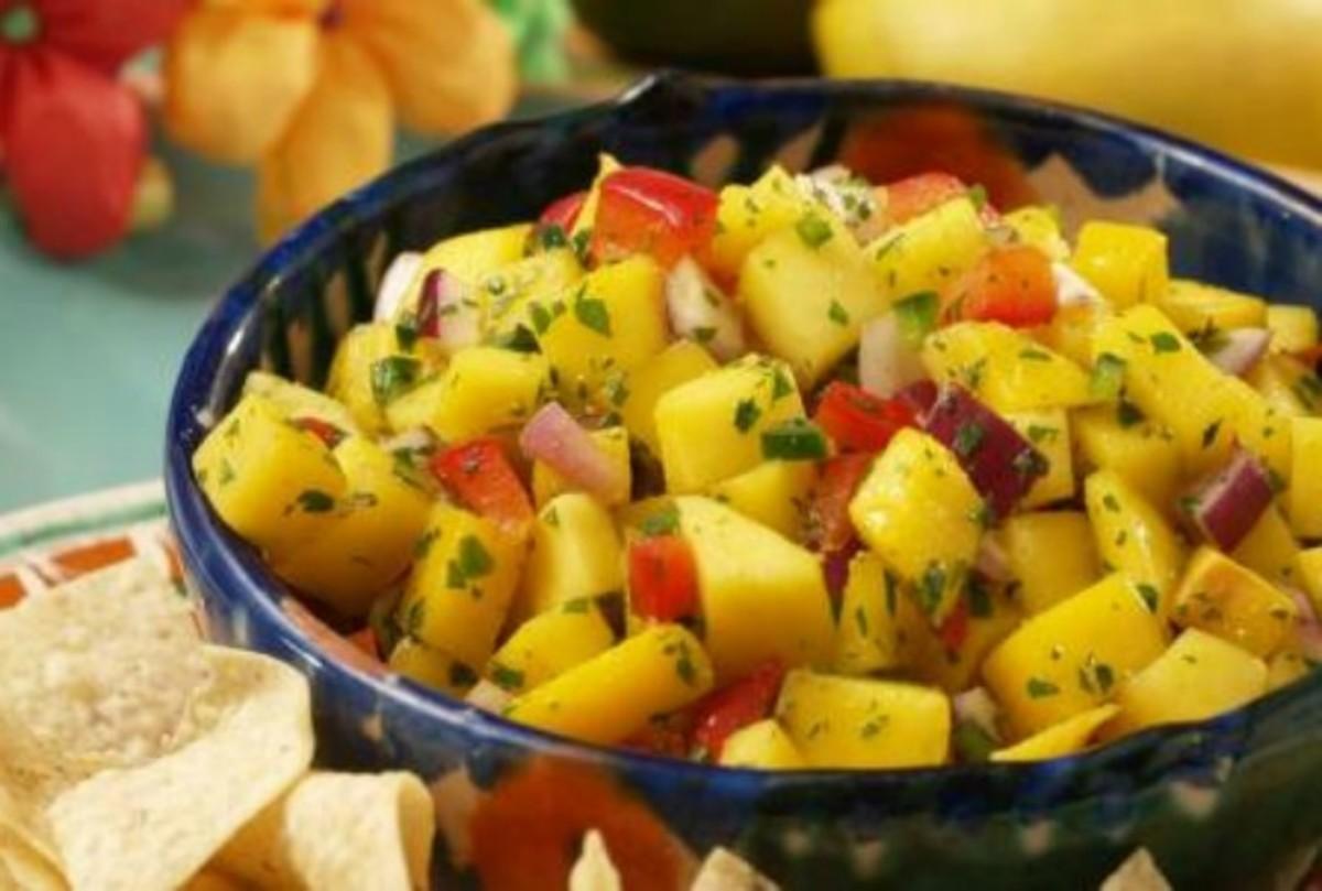 Cinco de Mango Salsa