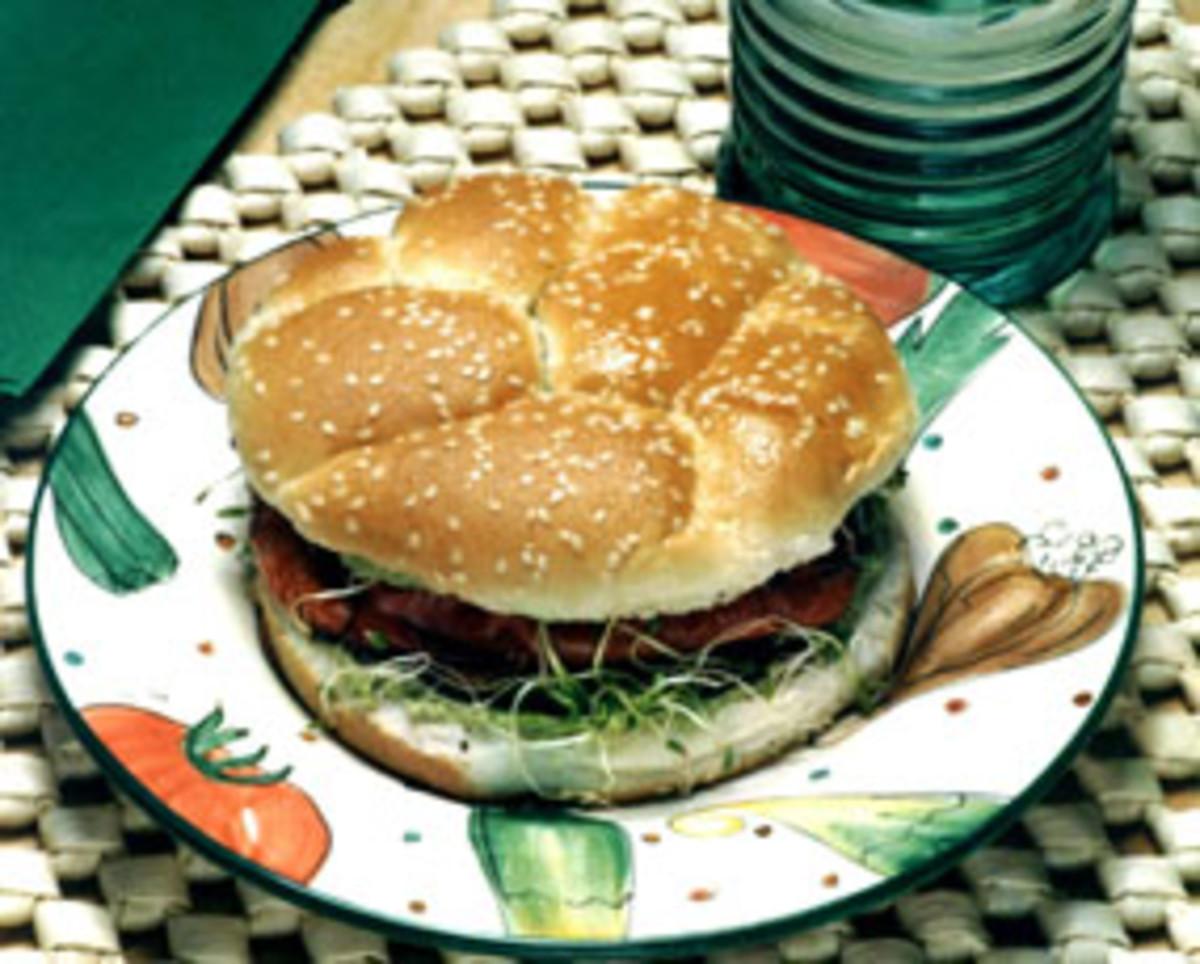 Grilled Portabella Mushroom Sandwich