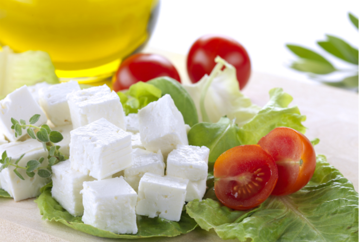 low fat feta