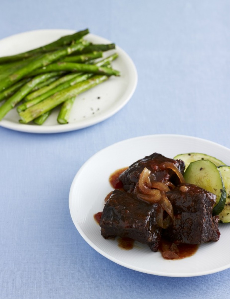 passover short ribs and veg