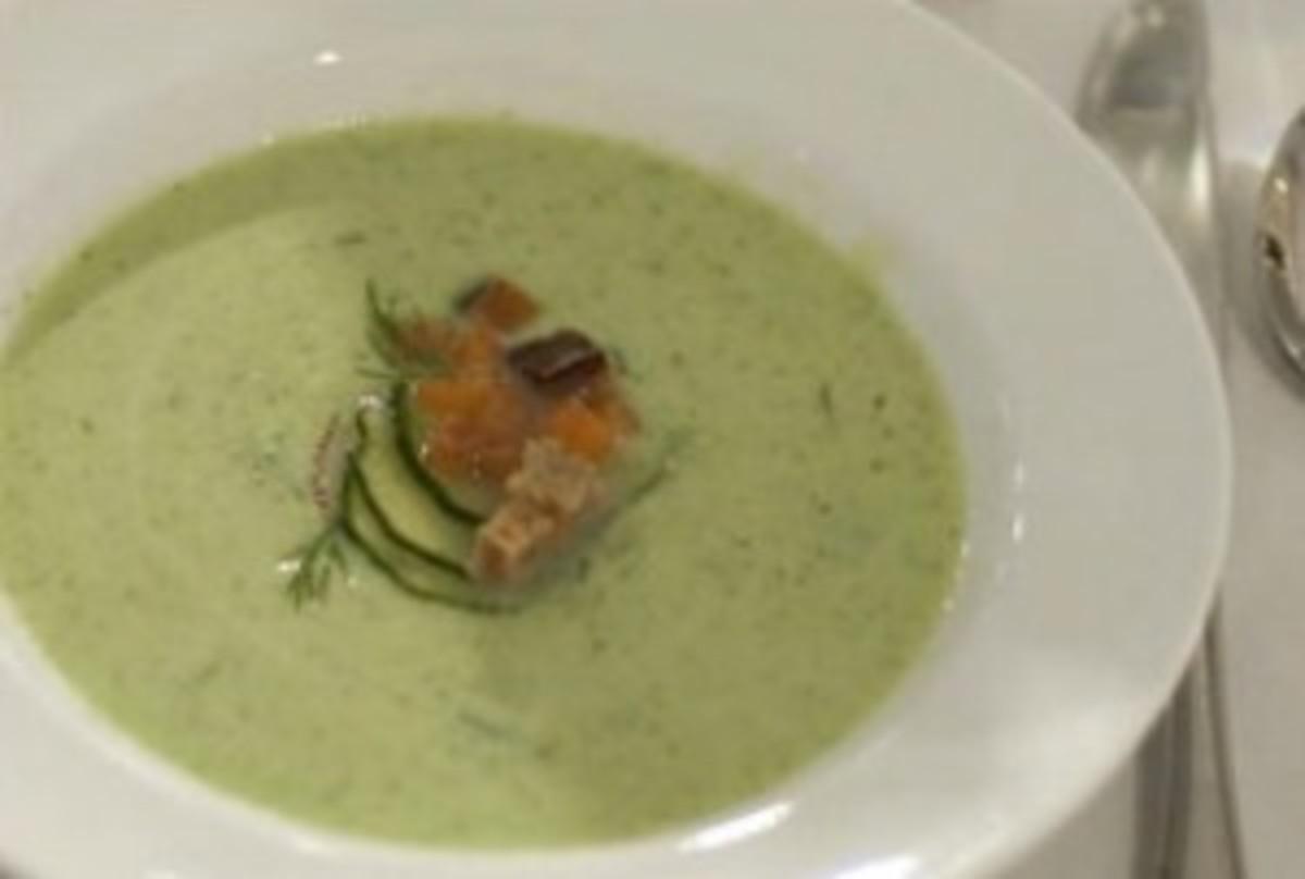 Chilled Cucumber Yogurt Soup - Joy of Kosher