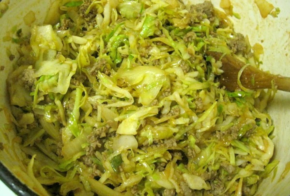 Gluten Free Unstuffed Cabbage