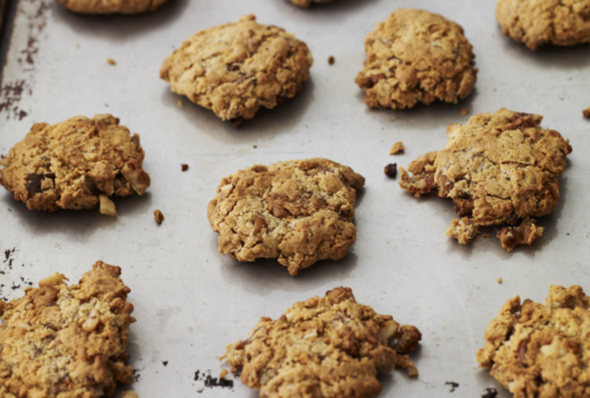 fig walnut cookies