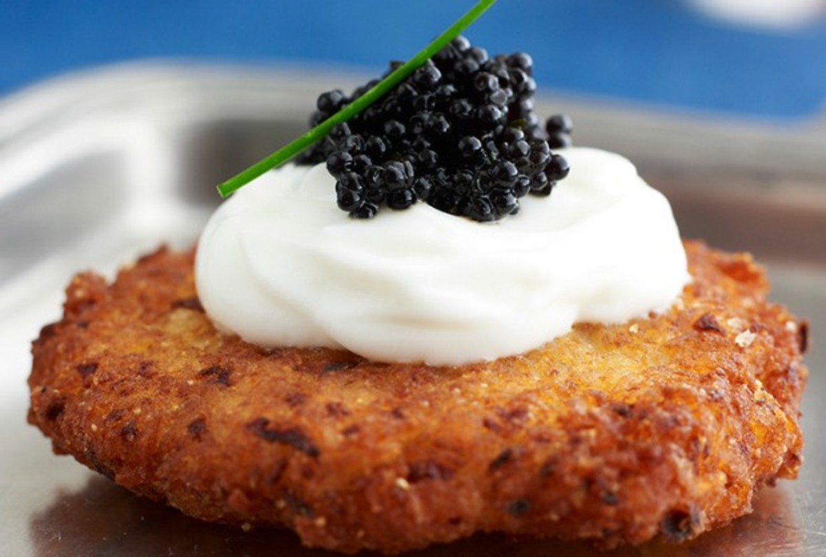joy of kosher caviar latkes