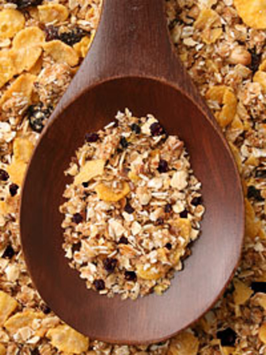 Maine Wild Blueberry Granola