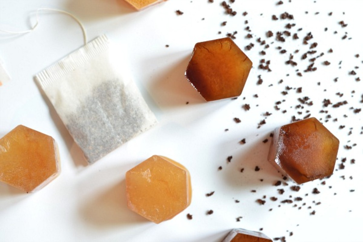 Coffee and Tea Flavored Ice Cubes