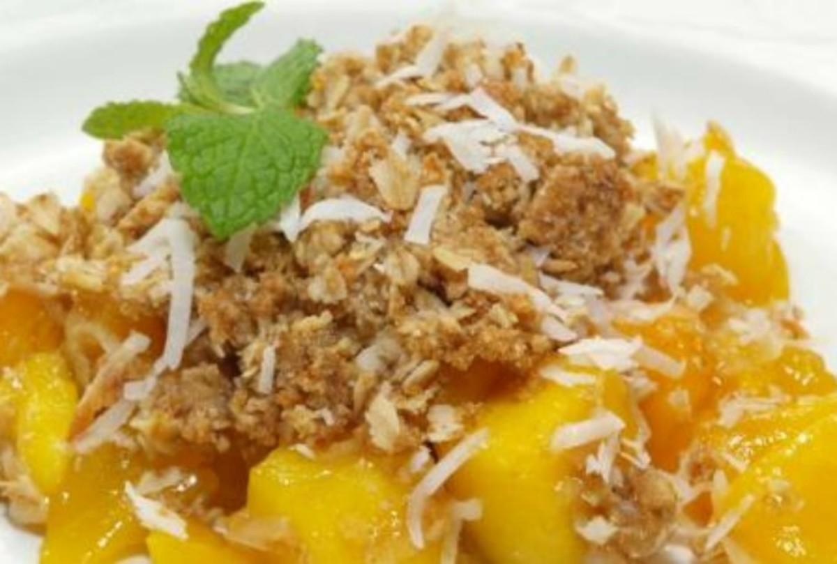Dylan's Mango Coconut Crisp