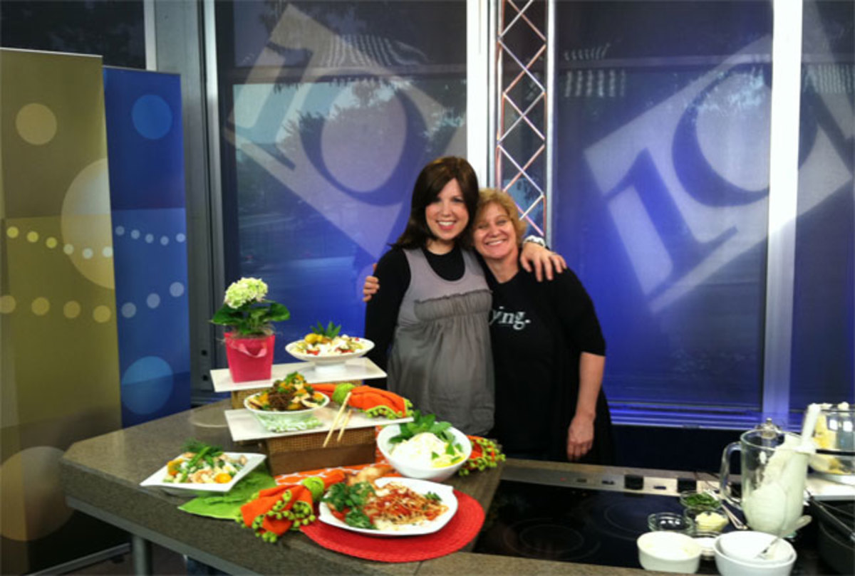 Jamie and Bonne on NBC 10! Set