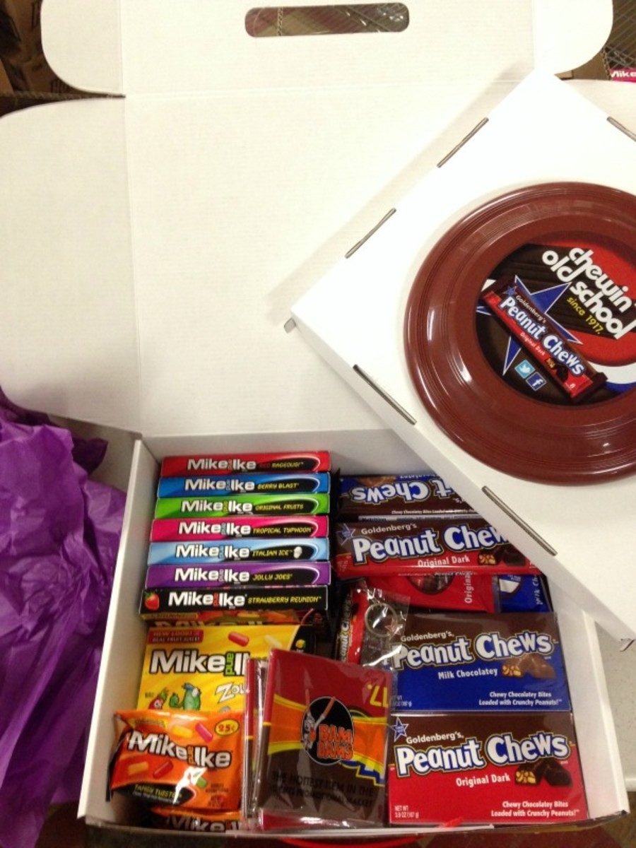 candy prize package