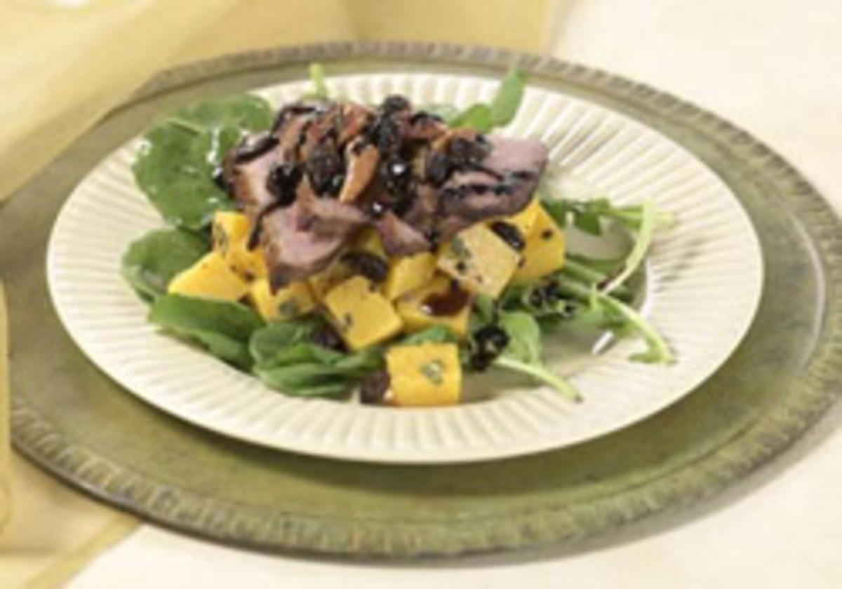 Butternut Balsamic Duck Salad