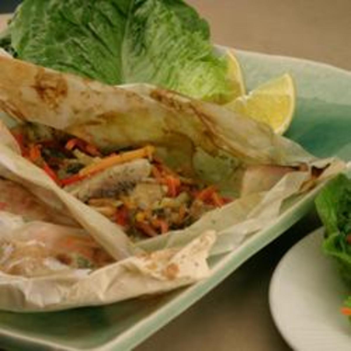 Calypso-Fish Lettuce Wrap Steamer