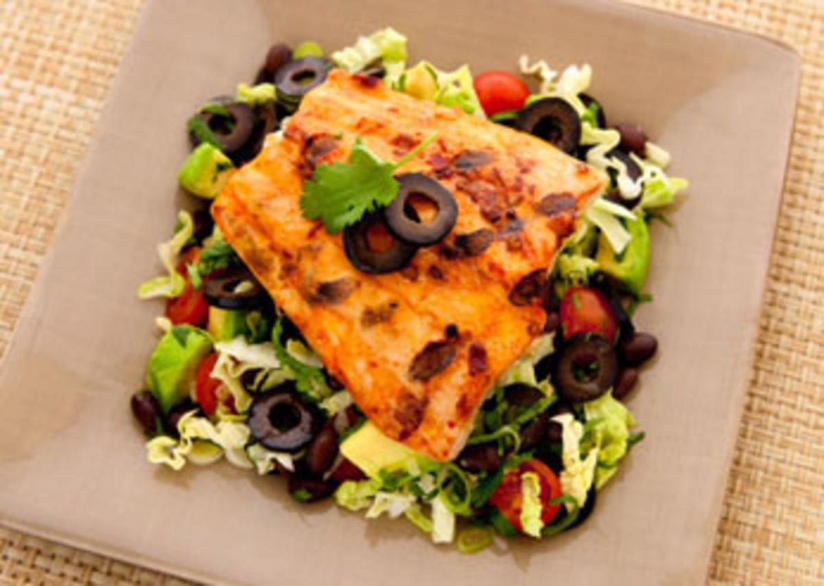 Mexican Mahi Salad