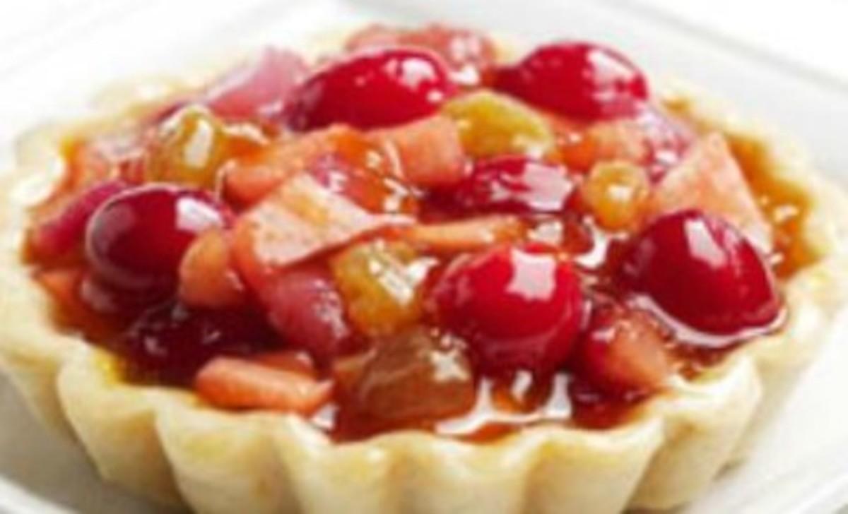 Individual Cranberry Tarts