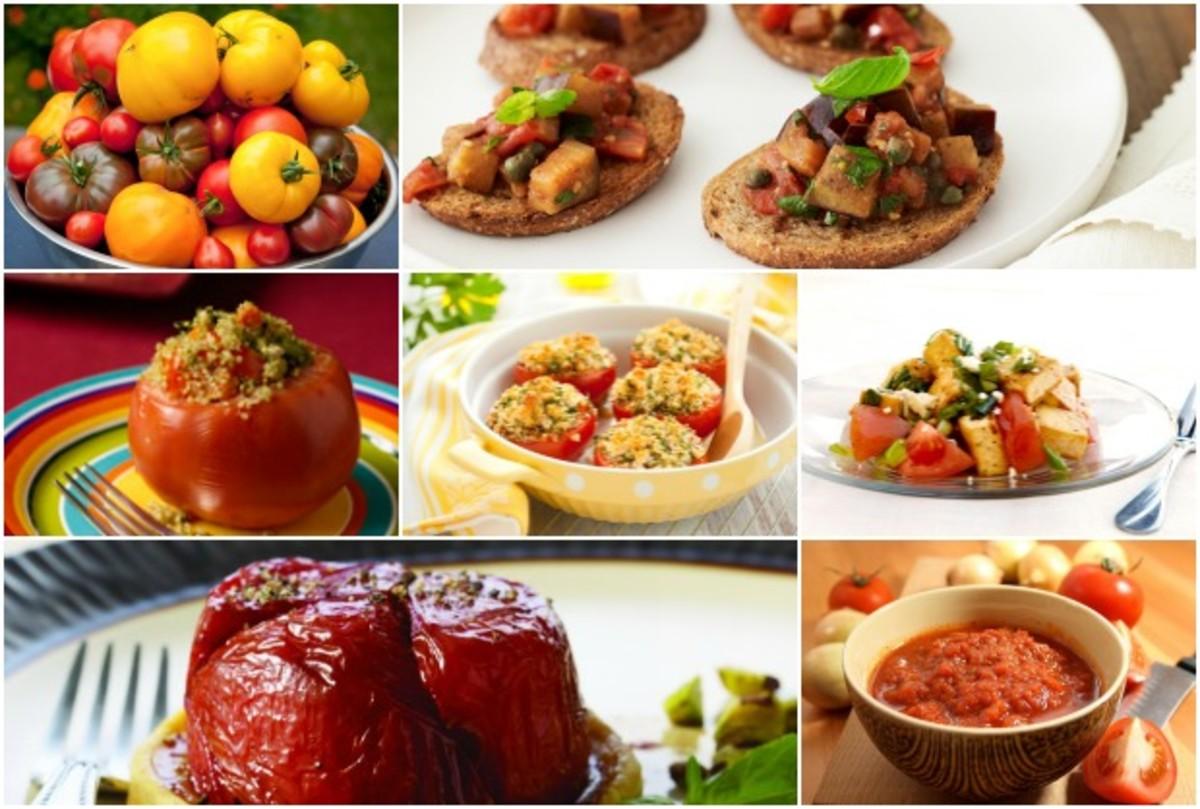 Ten Ways To Use Tomatoes