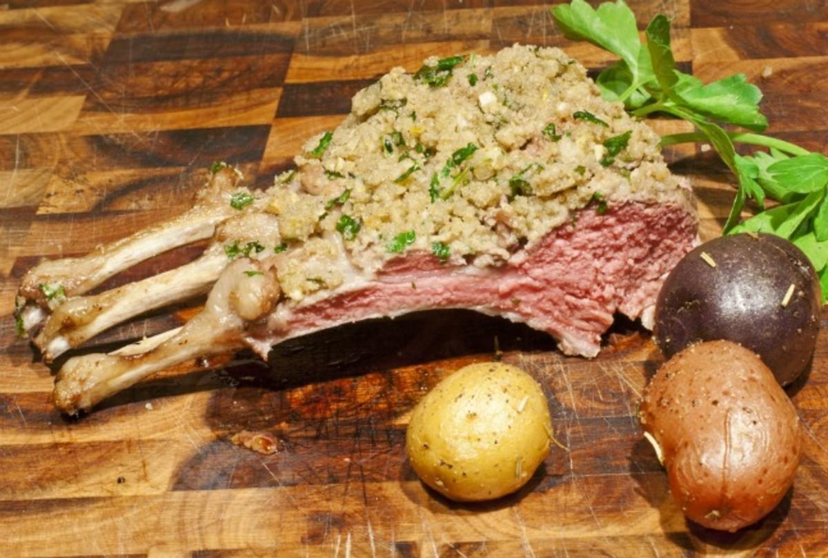 Rack Of Lamb Persillade Jamie Geller