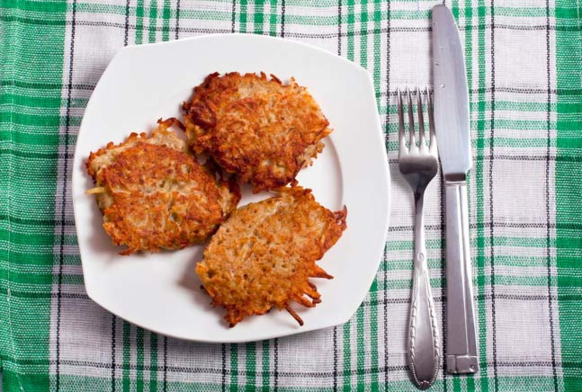 Crunchy Potato Cakes
